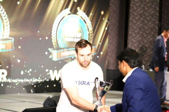 Asian investors has recognized our project as one of the most promising and professionally prepared startups among all other projects presented on the stage in Hilton Hotel in Taipei. We have received a big cup and the main prize of 10 000 USD.
